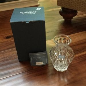 "Marquis by Waterford Crystal Sheridan 6"" Vase"